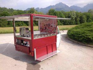 Eisdiele Eiswagen