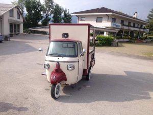 Ape Piaggio Eismobil